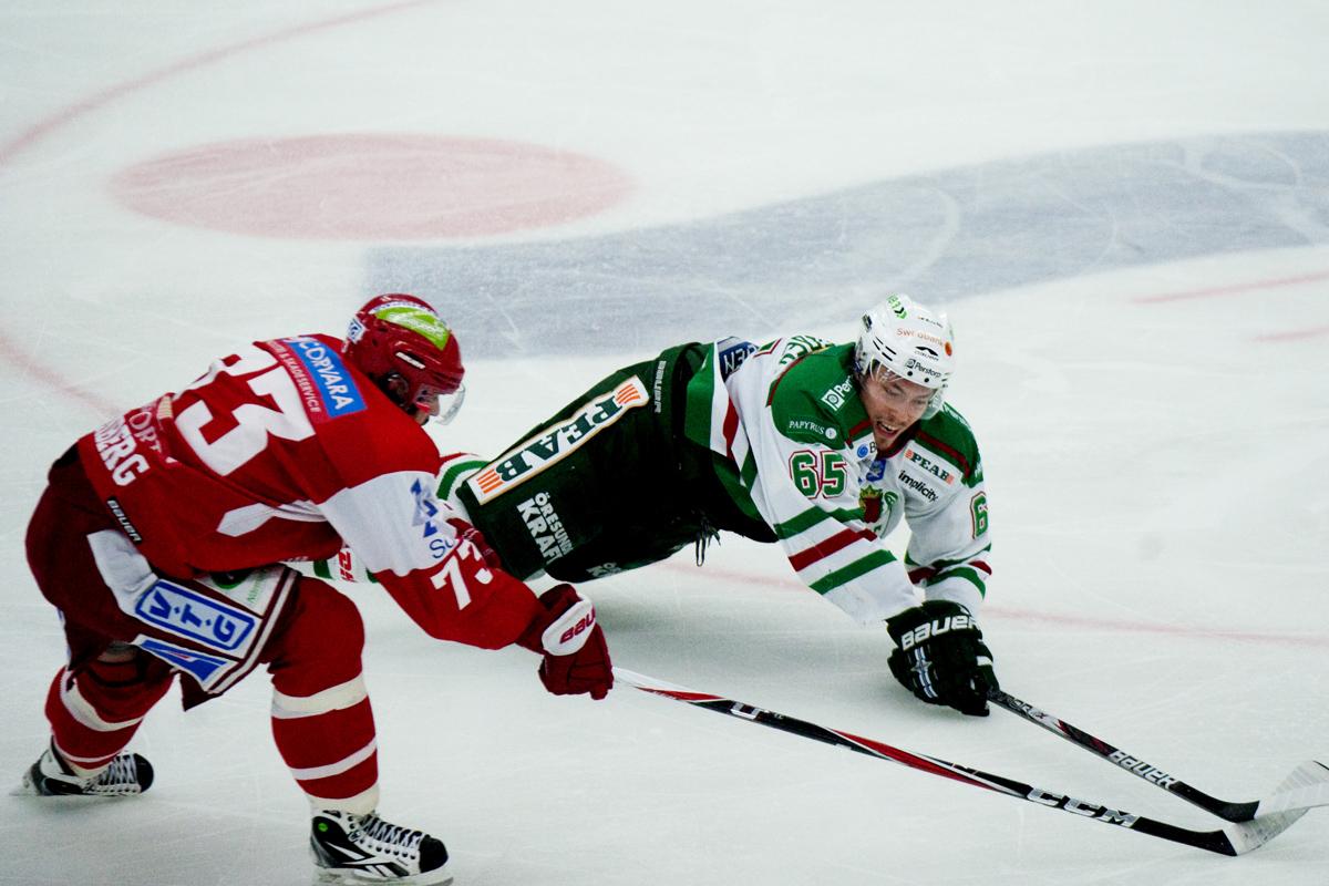 Ishockey, Kvalserien, Rögle - Timrå