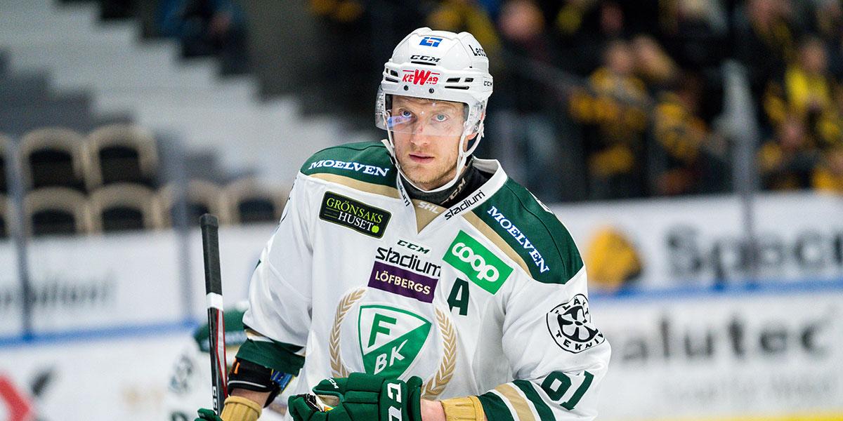 Johan Ryno, Färjestad BK
