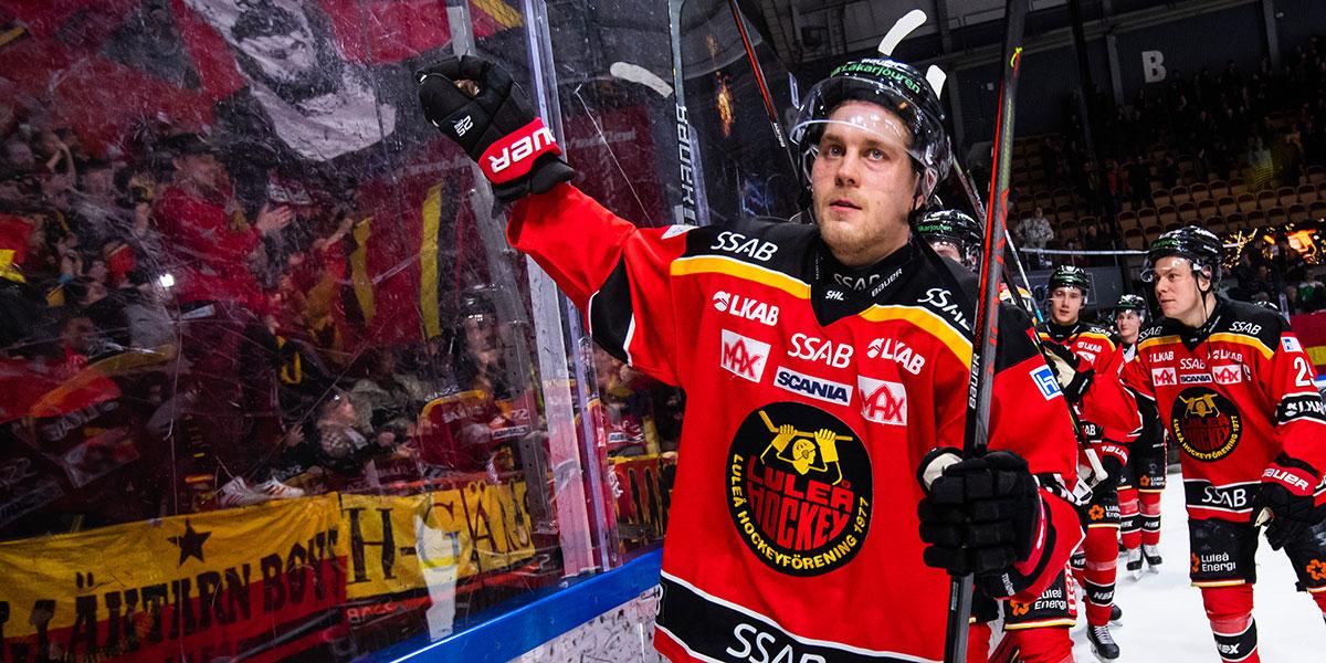 Juhani Tyrväinen, Luleå HC