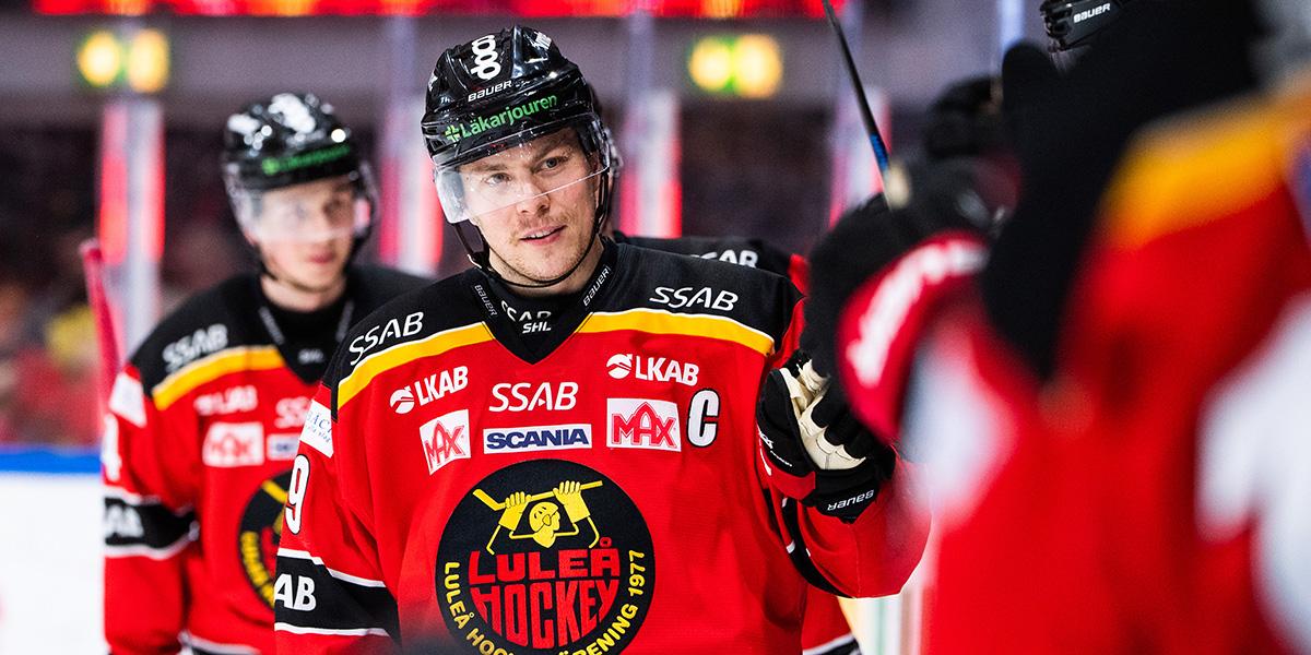 Erik Gustafsson, Luleå