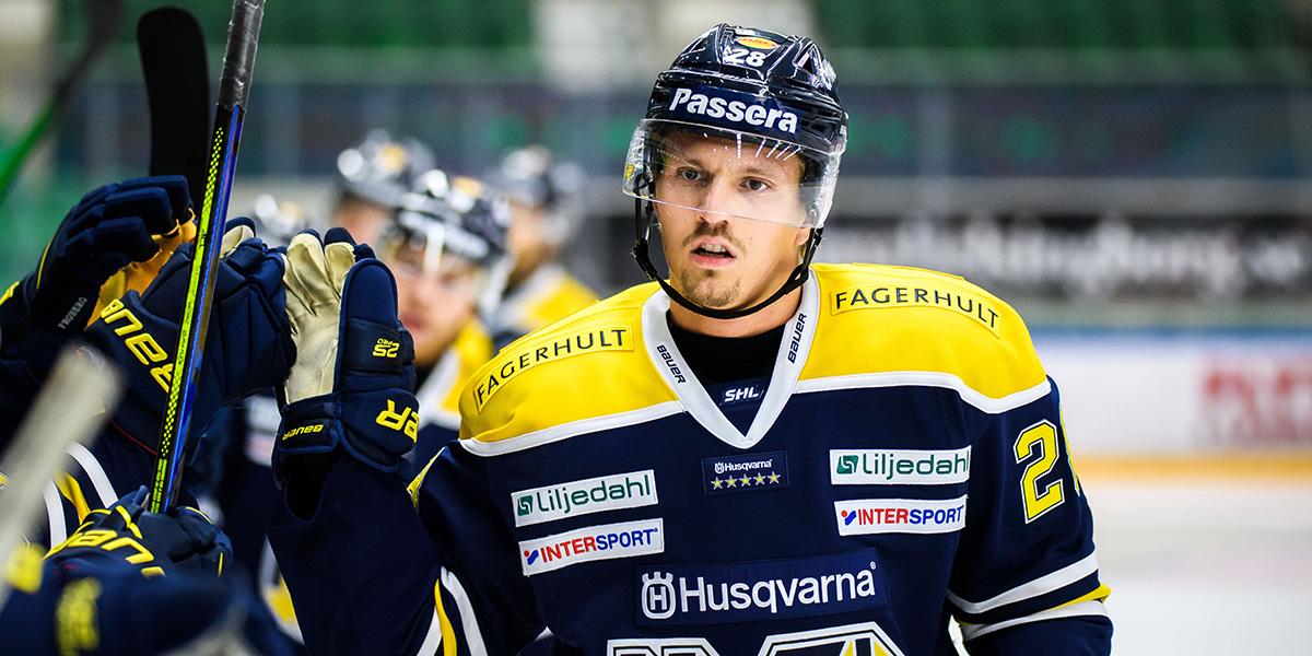 Johannes Kinnvall, HV71