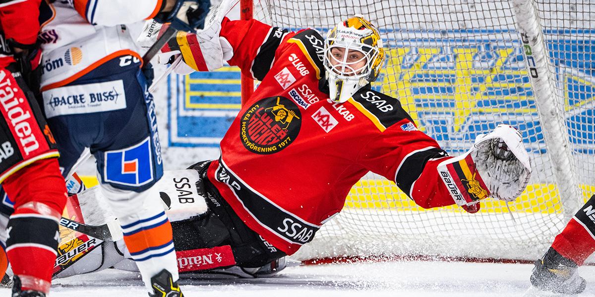 Jesper Wallstedt, Luleå