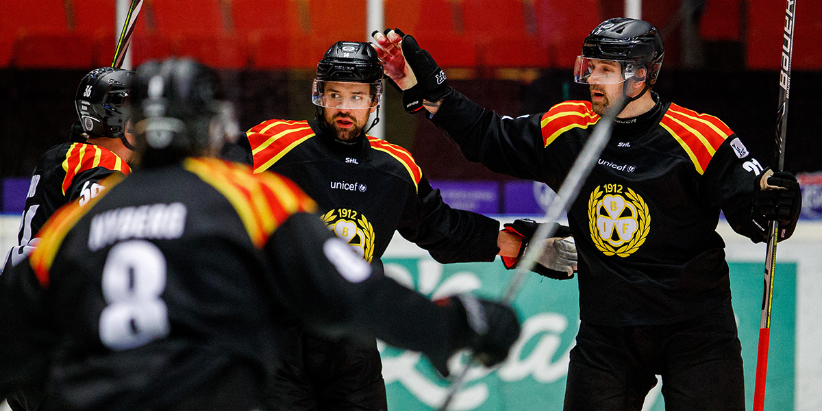Johan Alcén och Patrik Berglund, Brynäs