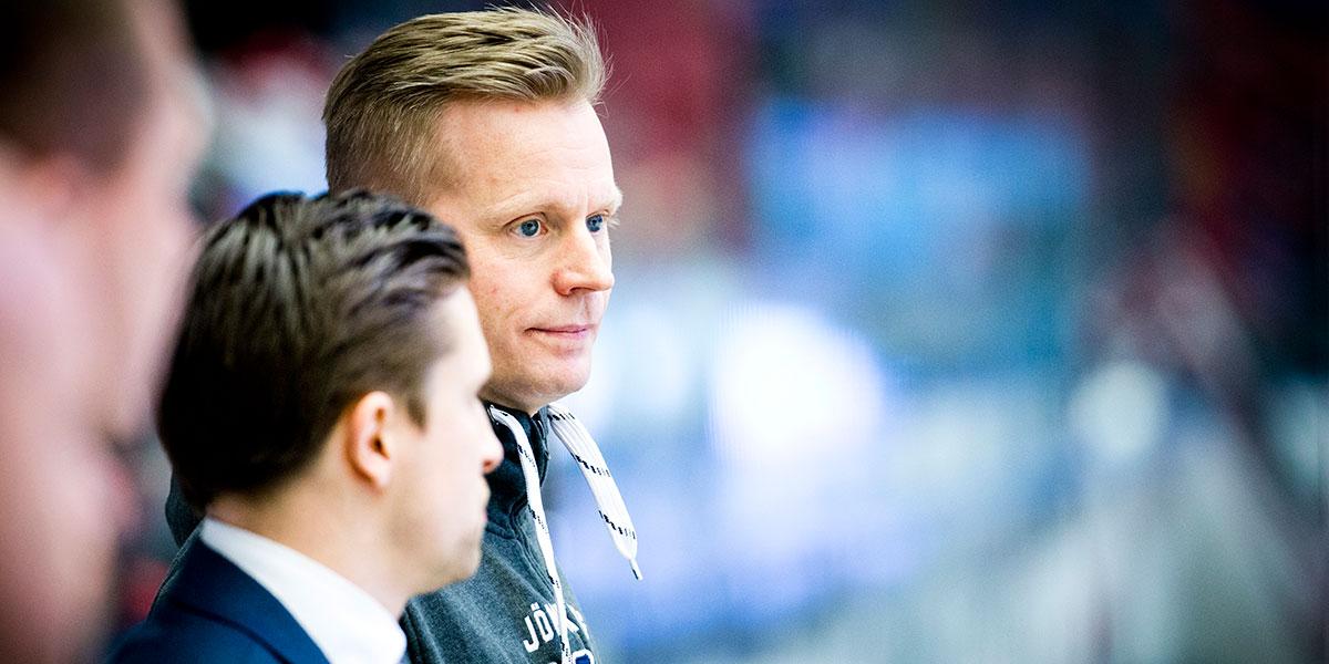 Johan Davidsson, assisterande sportchef HV71