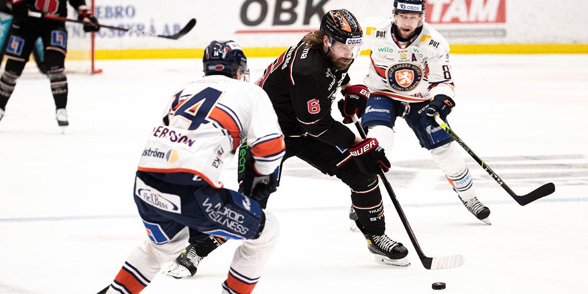 Örebro-Växjö, semifinal